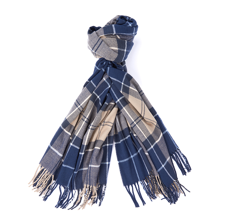 Barbour Hailes Tartan Wrap Tempest Barbour Lifestyle: from the Classic capsule