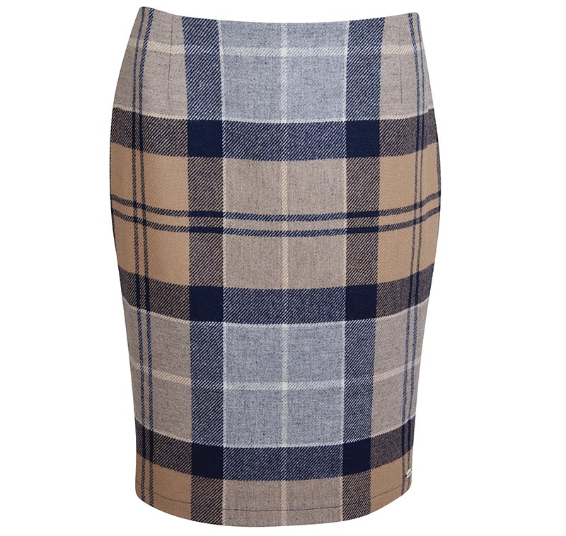 Barbour Barbour Nebit Pencil Skirt Tartan
