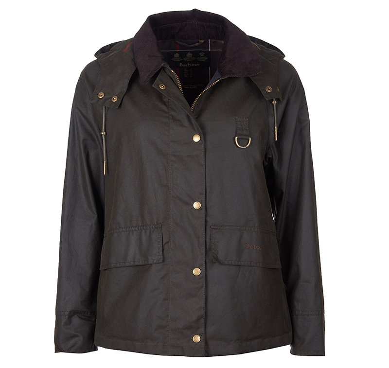 Barbour Barbour Avon Waxed Cotton Jacket Olive