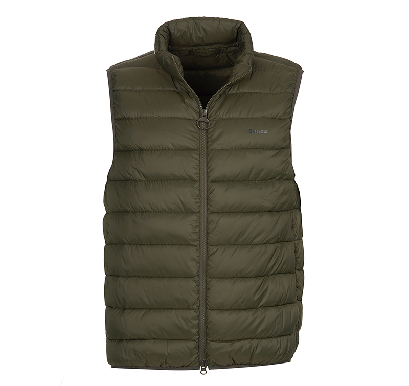 Barbour Bretby Gilet Olive Barbour Lifestyle