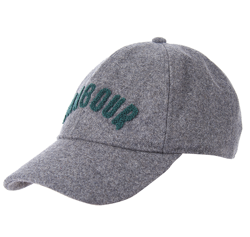 Barbour Barbour Lanton Sports Hat Grey Gorra de basesall ideal para el fin de semana!!!