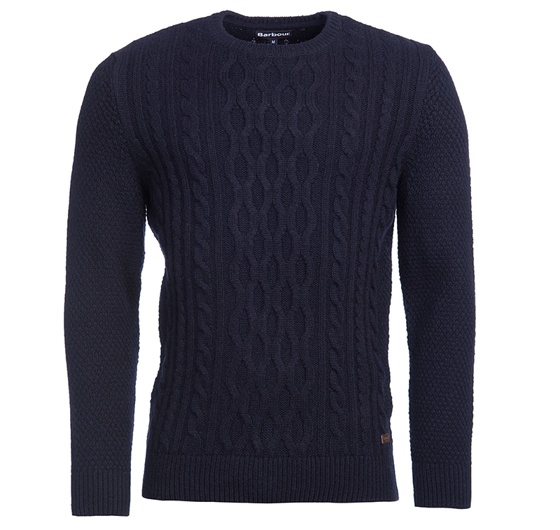 Barbour Chunky Sweater navy Barbour Lifestyle: from the Classic capsule