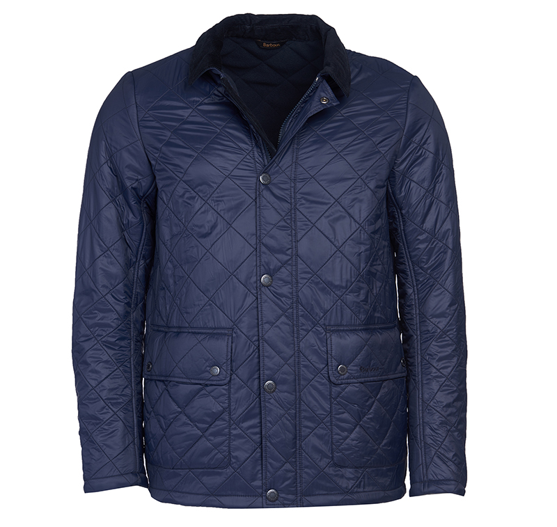 Barbour Barbour Denill Polar Fleece Quilted Jacket FIT: Tailored