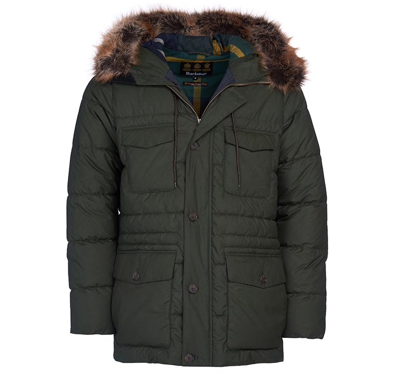 Barbour Barbour Morton Quilted Jacket Sage FIT: Tailored