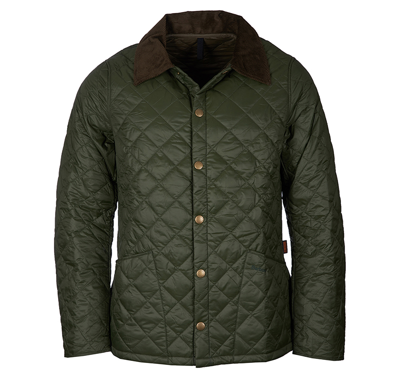 Barbour Barbour Winter Heritage Liddesdale Sage Fit: Tailored