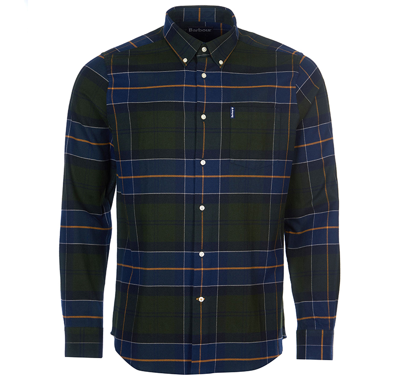 Barbour Lustleigh Tailored Shirt Forestt Barbour Lifestyle: From the Classic Tartan collection