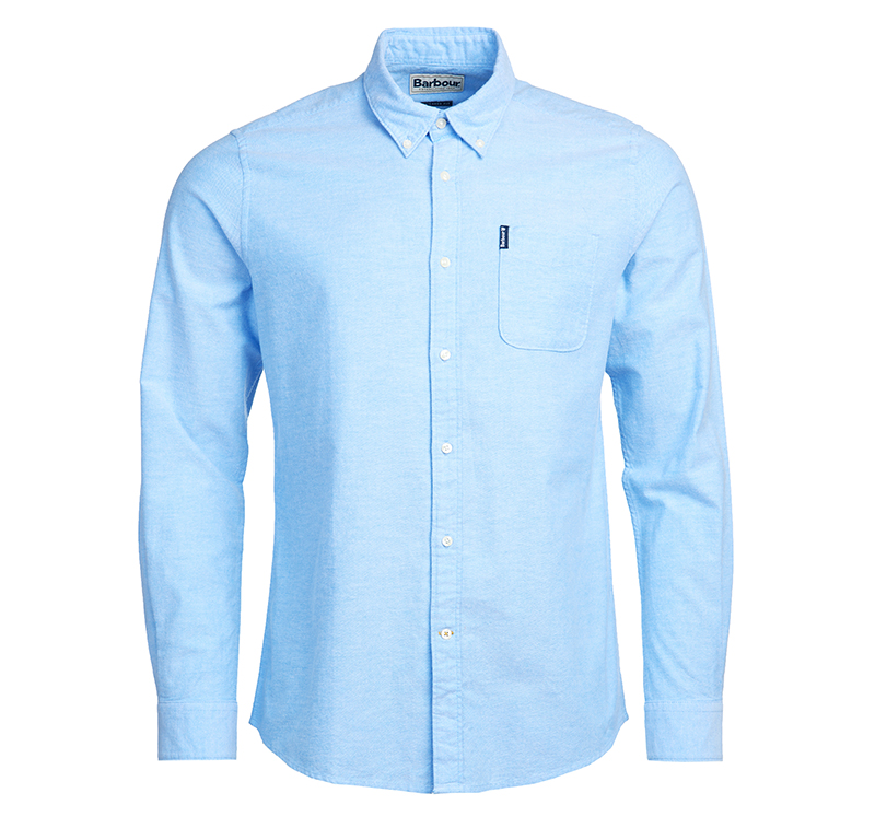 Barbour Oxford 8 Tailored Shirt Sky
