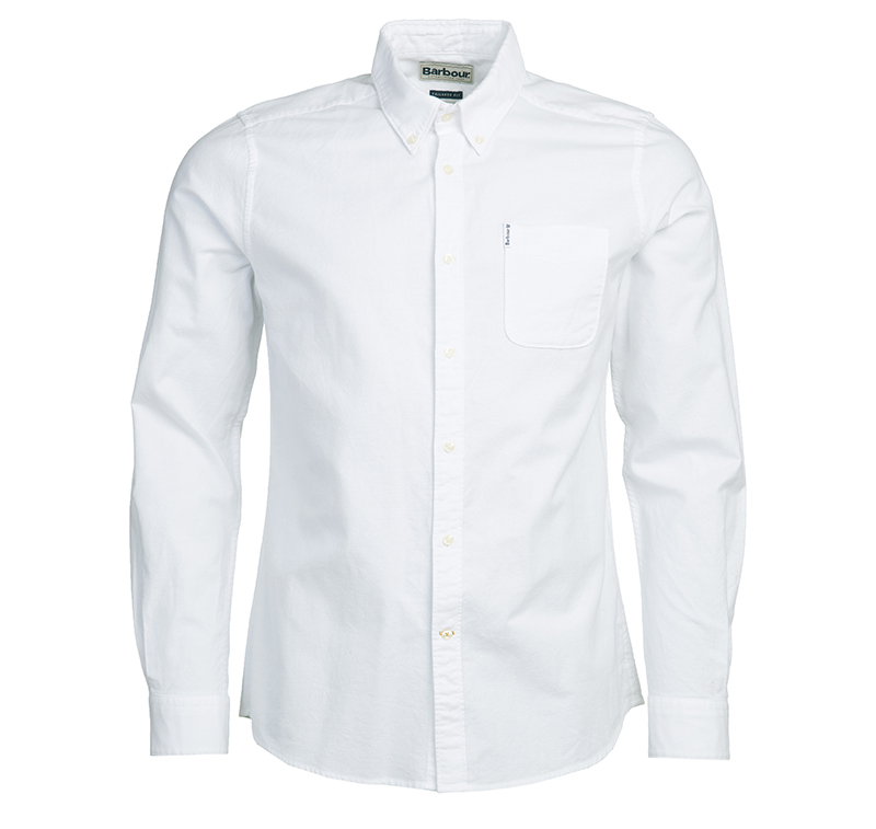 Barbour Oxford 8 Tailored Shirt White