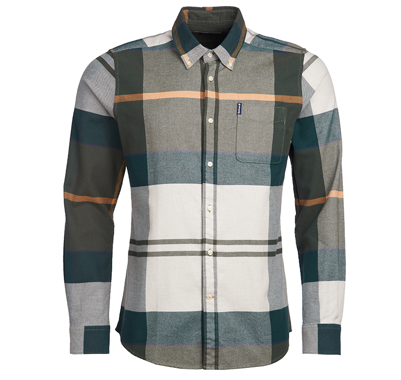 Barbour Tartan 7 Shirt Ancient Tailored Fit