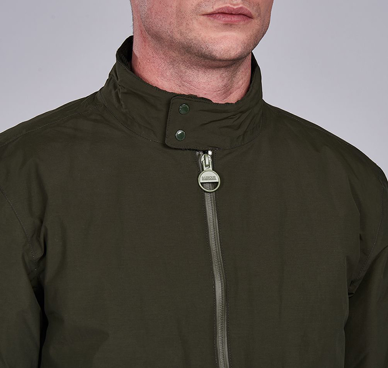 B.Intl Arlington Steve McQueen™ Jacket Sage Barbour International: from the Steve McQueen capsule