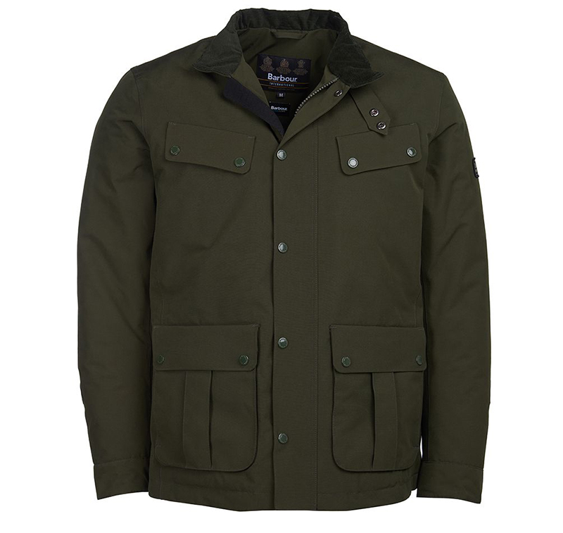 Barbour B.Intl Waterproof Duke Jacket Sage Barbour International