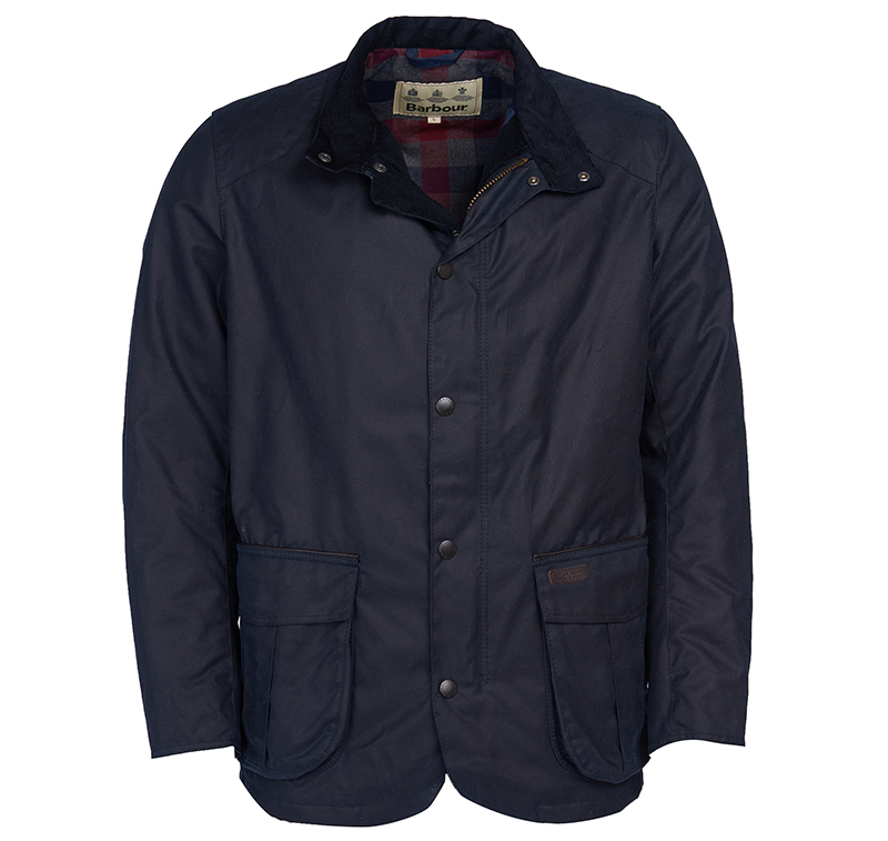 Barbour Barbour Gilpin Waxed Cotton Jacket Navy Fit: Regular