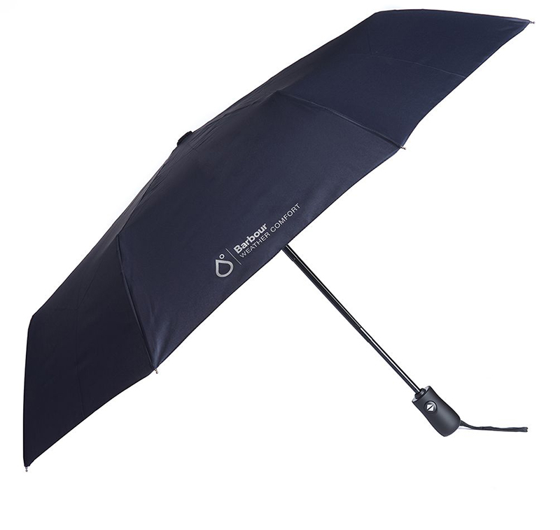 Barbour Automatic Umbrella Navy Barbour Lifestyle: from the Classic capsule