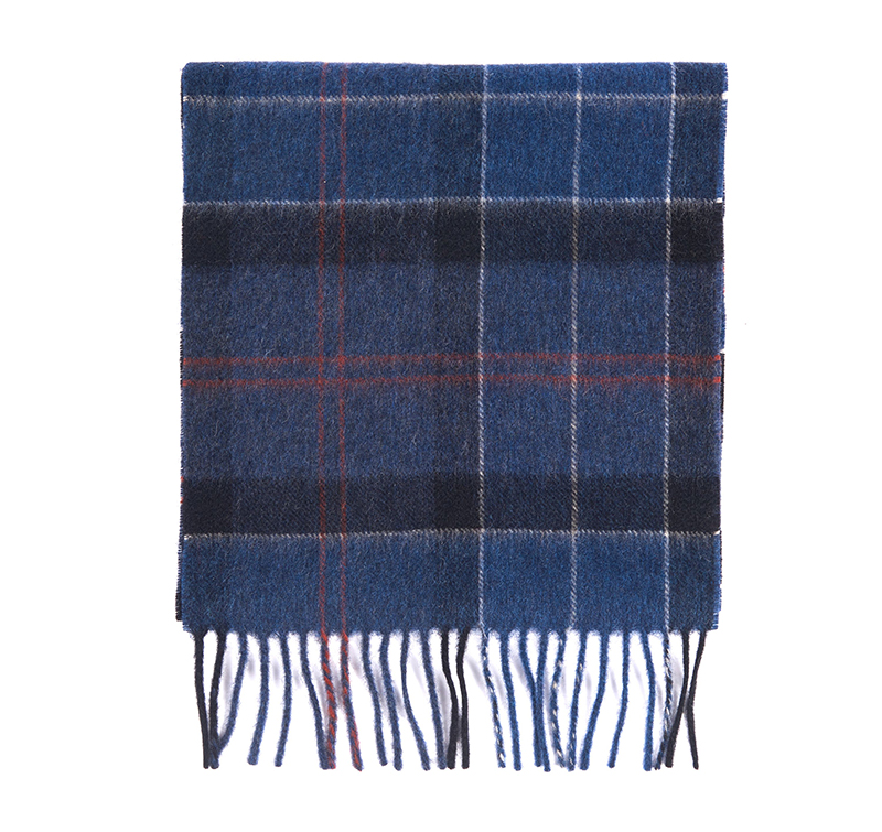 Barbour Barbour Holden Tartan Scarf Navy Barbour Lifestyle: From the Classic Tartan collection