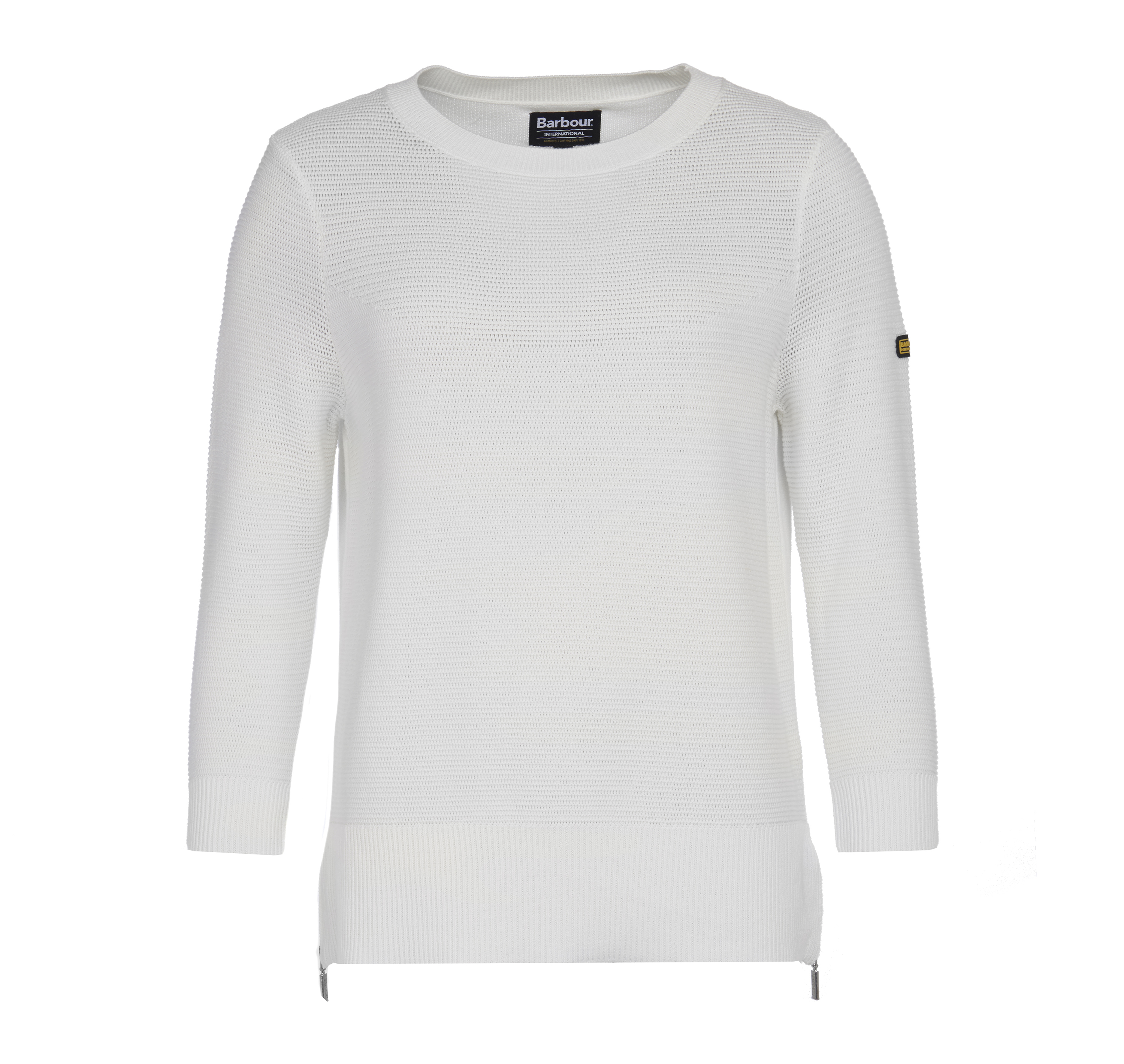 Barbour Apex Knit Sweater Off White Barbour International