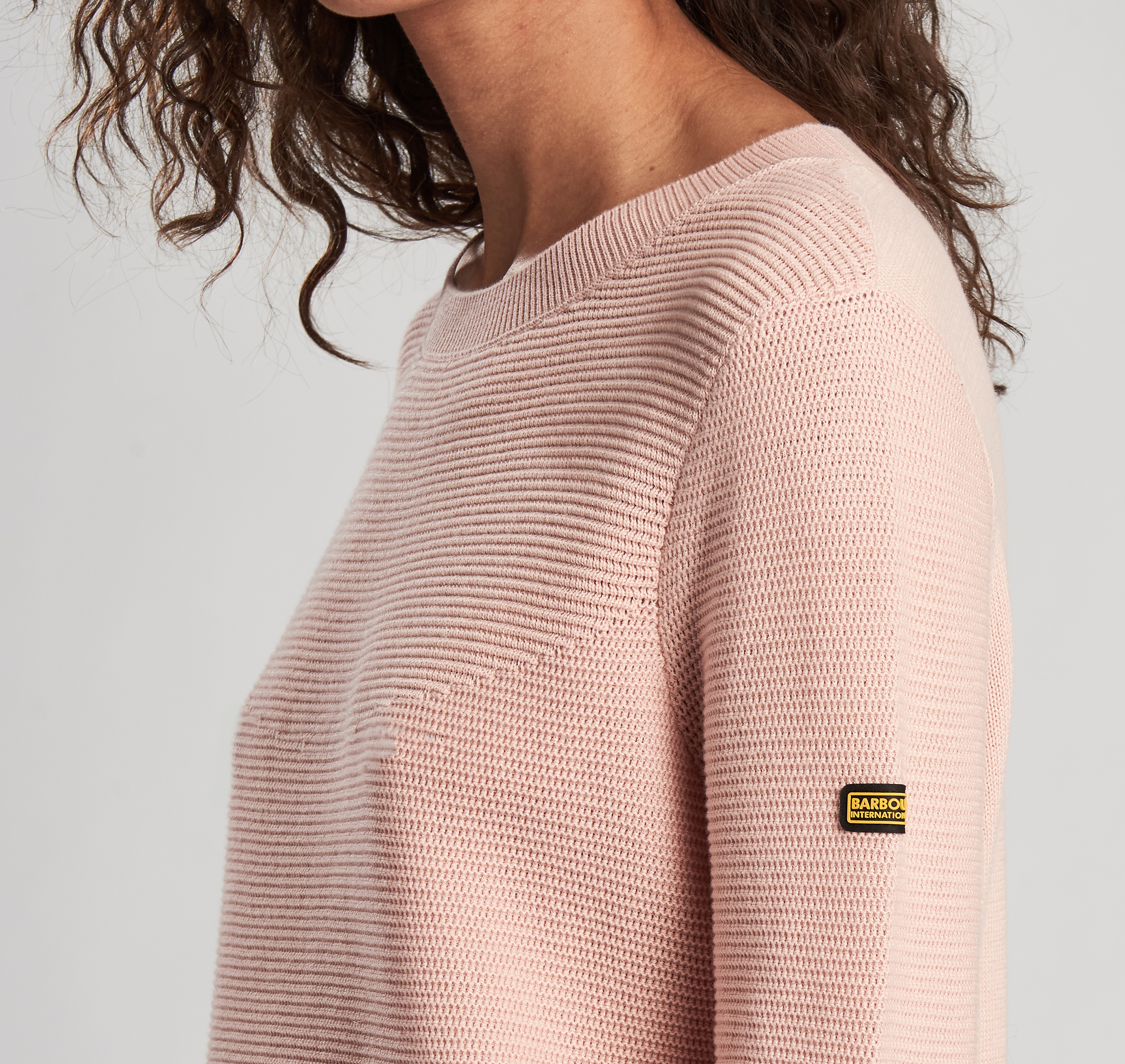 Barbour Apex Knit Sweater Honeydew