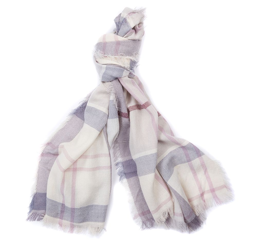 Barbour Freya Wrap Platinum Barbour Lifestyle