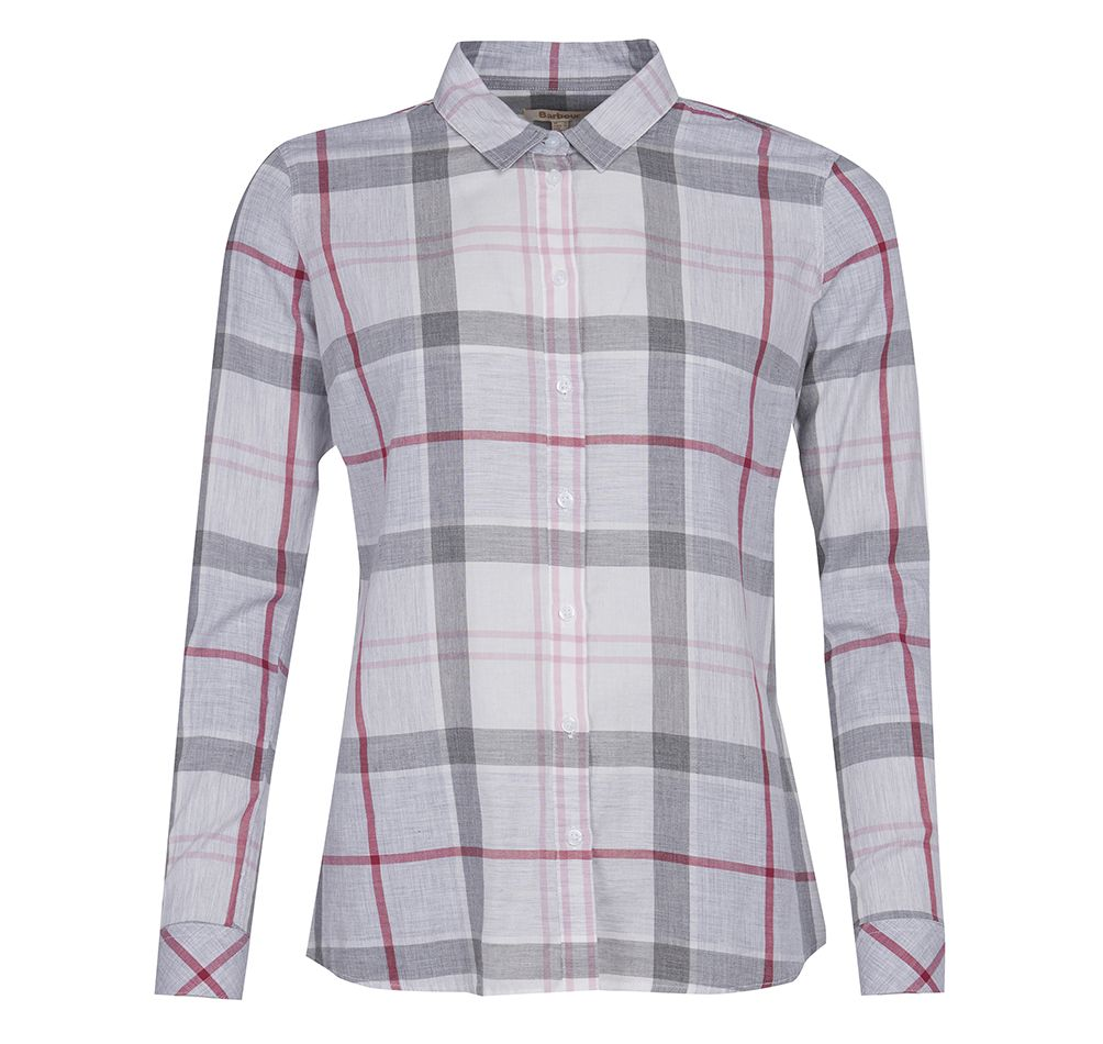 Barbour Barbour Causeway Shirt Platinum Regular Fit