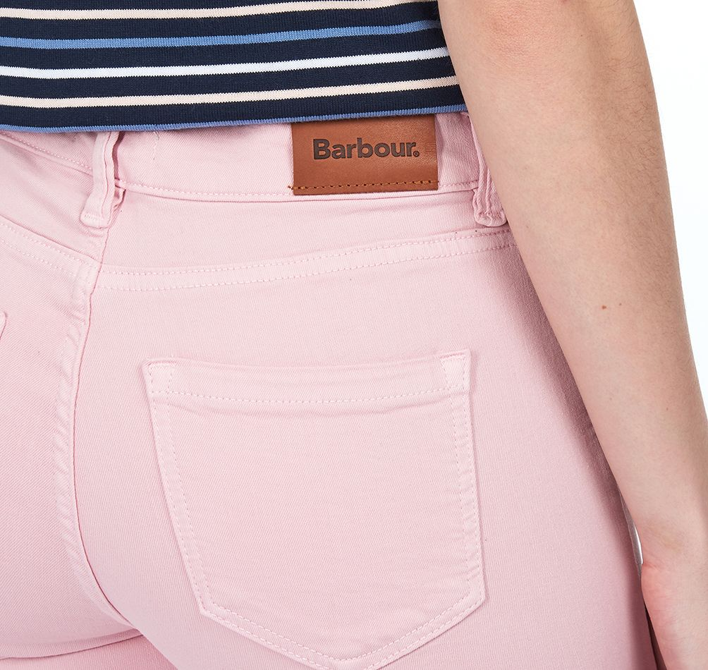 Barbour Essential Slim Trousers Carnation