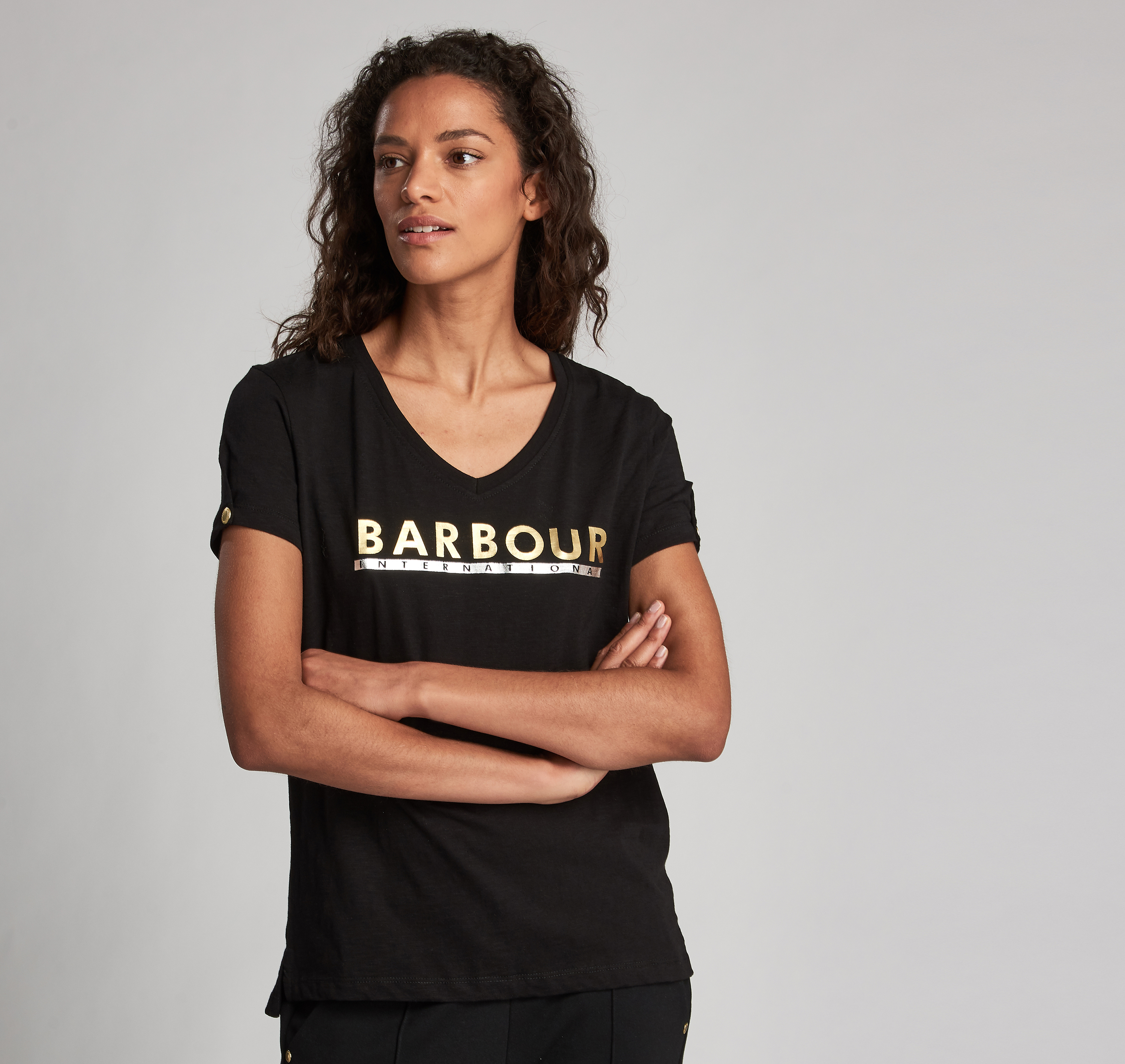 Barbour Huddle T-shirt Black