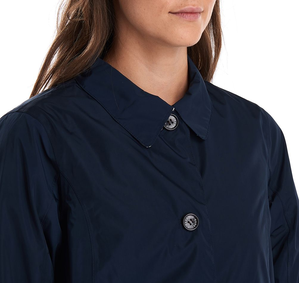 Barbour Babbity Waterproof Jacket Navy Barbour Lifestyle: From the Classic collection