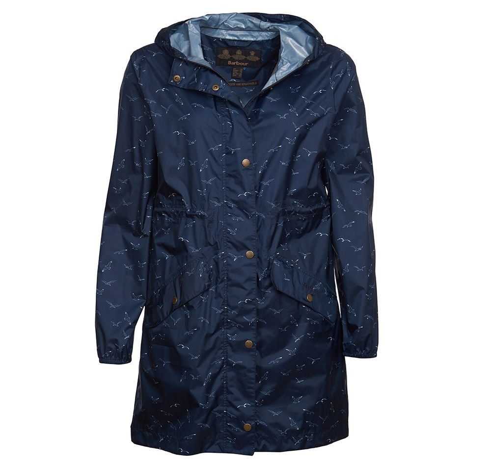 Barbour Simonside Waterproof Jacket Navy Barbour Lifestyle: From the Classic collection