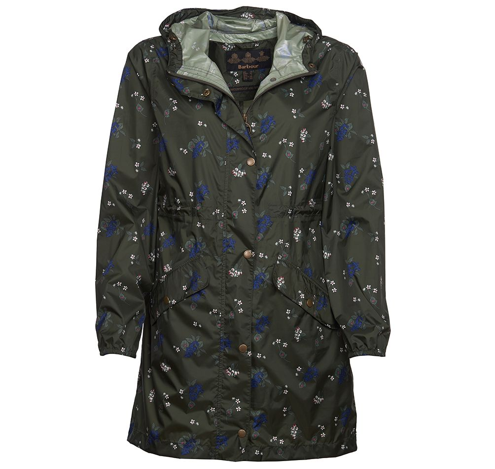 Barbour Simonside Waterproof Jacket Olive Barbour Lifestyle: From the Classic collection