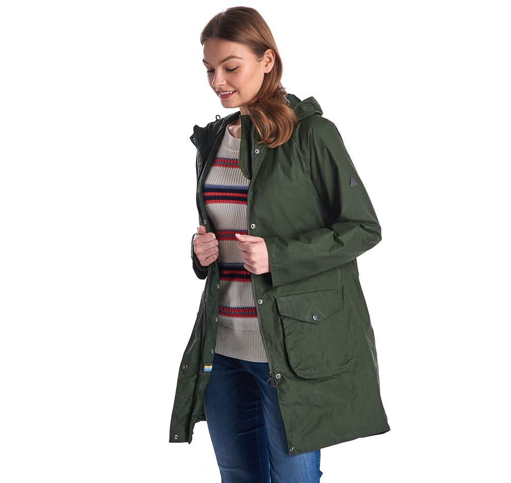 Barbour Updrift Wax Jacket Barbour International: Regular Fit