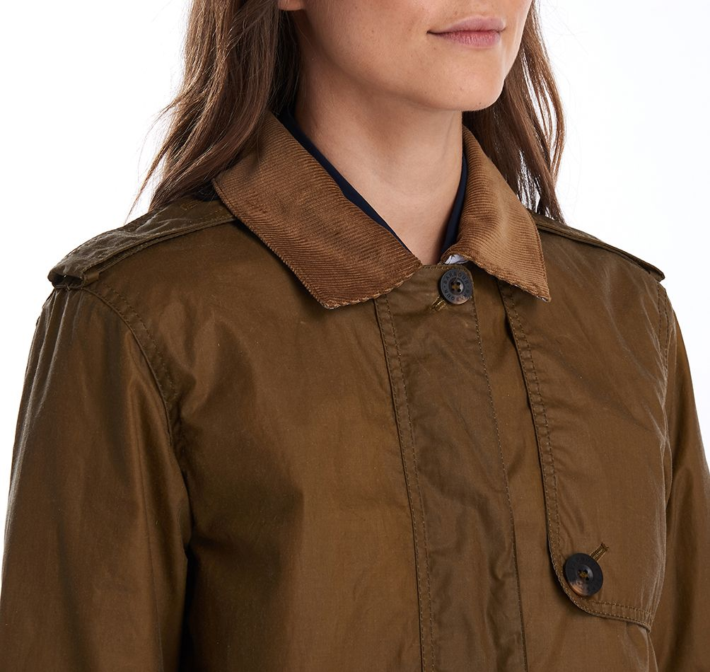 Barbour Barbour Una Waxed Cotton Jacket Barbour Lifestyle