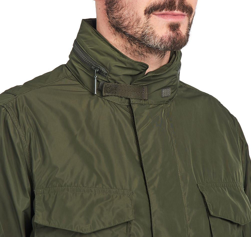 Barbour Gelb Casual Jacket Tailored Fit