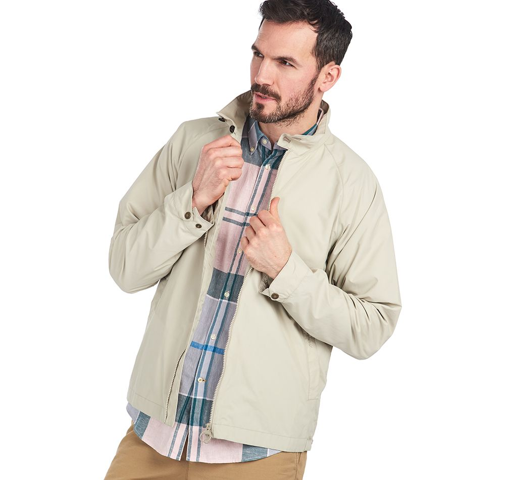 Barbour Donkin Casual Jacket Mist Tailored Fit