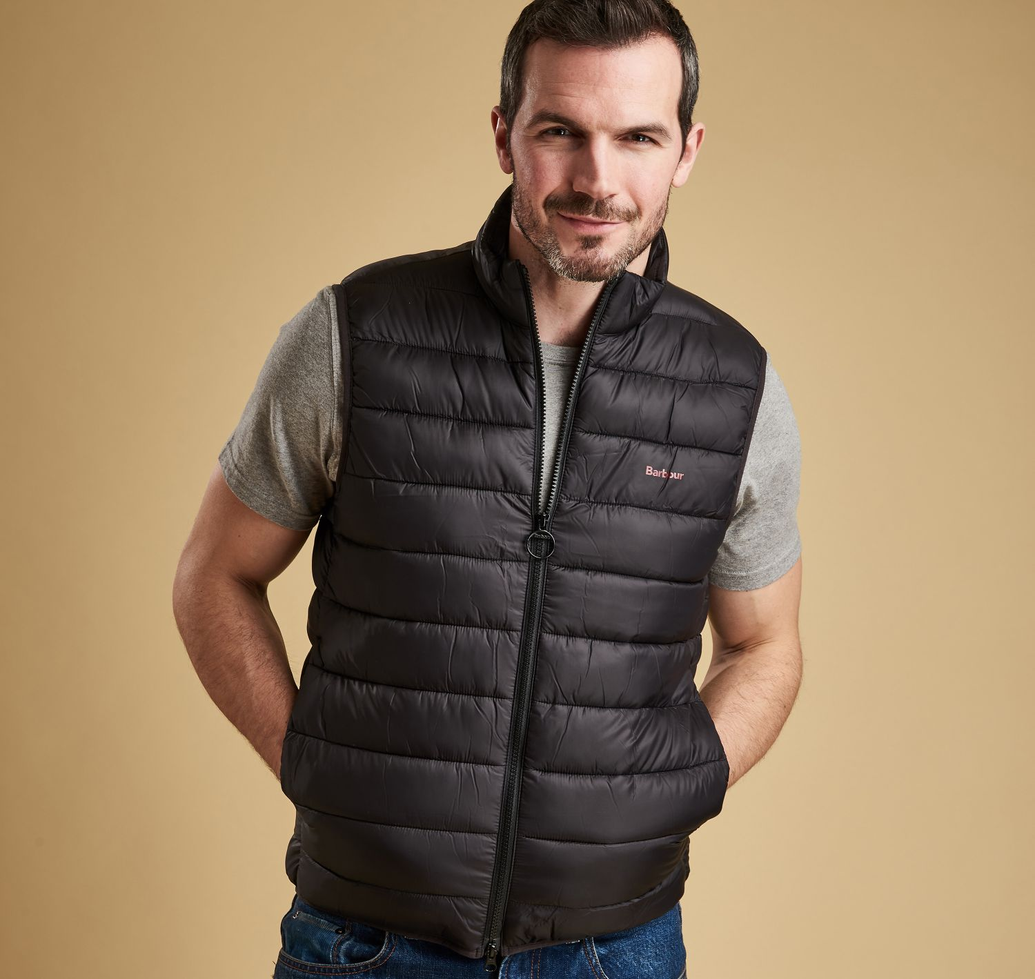 Barbour Bretby Gilet Black Barbour Lifestyle: From the Essentials collection