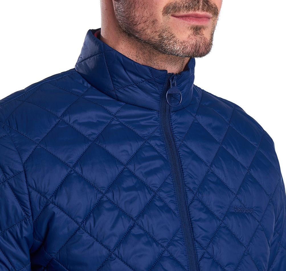 Barbour Belk Quilted Jacket Regal Blue