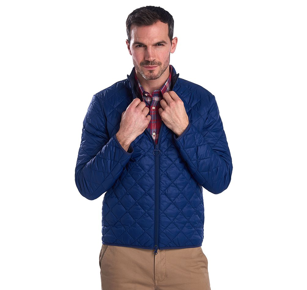 Barbour Barbour Belk Quilted Jacket Regal Blue Barbour LifeStyle: From the Classic collection