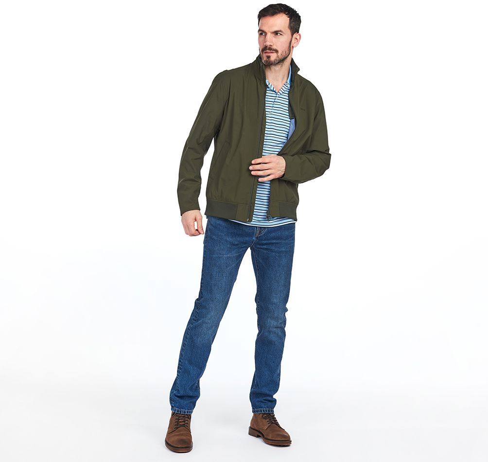 Barbour Barbour Leyburn Waterproof Jacket Olive FIT: Tailored