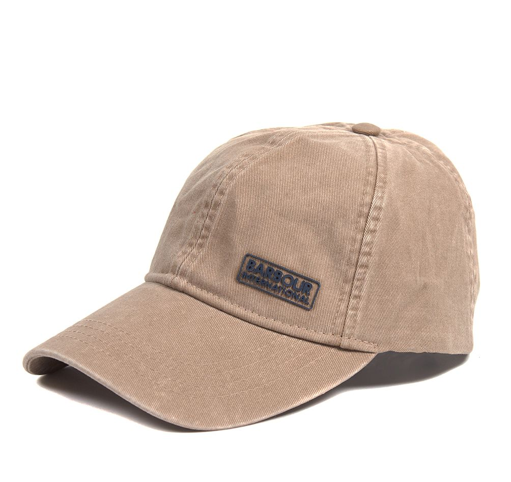B.Intl Norton Drill Cap Dk Stone Barbour International