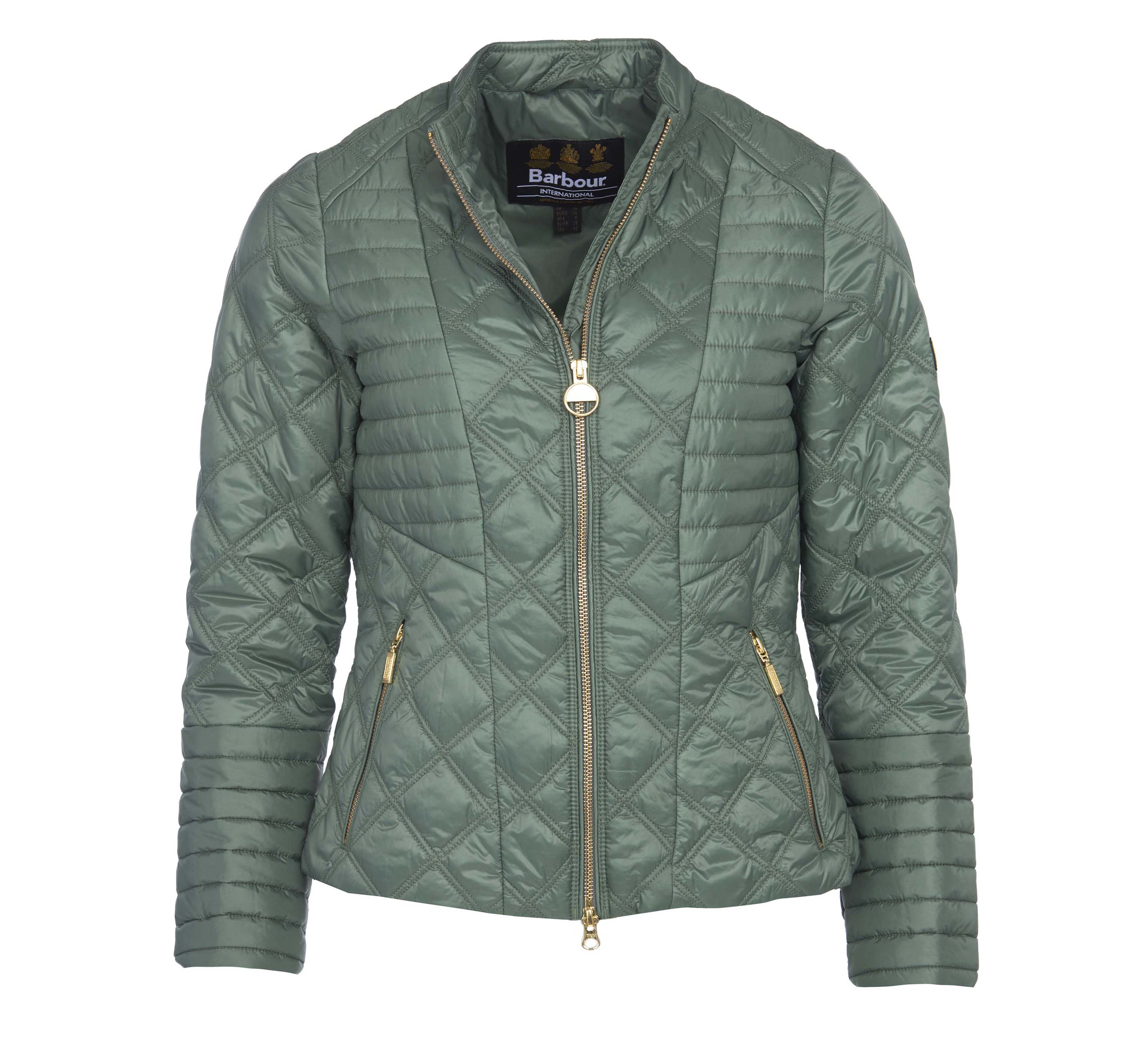 Barbour Intl. Freethrow Quilted Jacket Barbour International: Slim Fit
