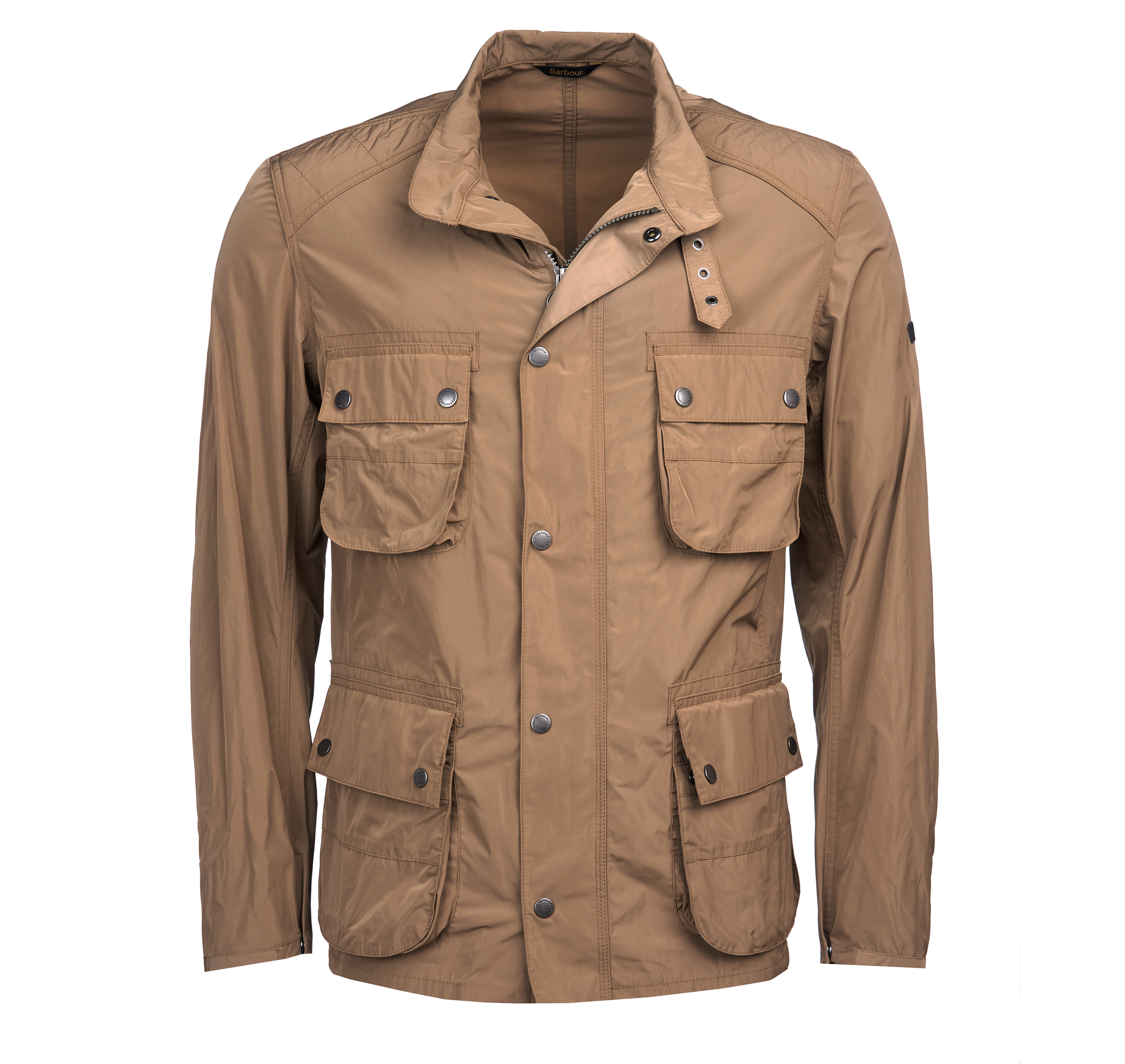 B.Intl Weir Casual Jacket Military brown