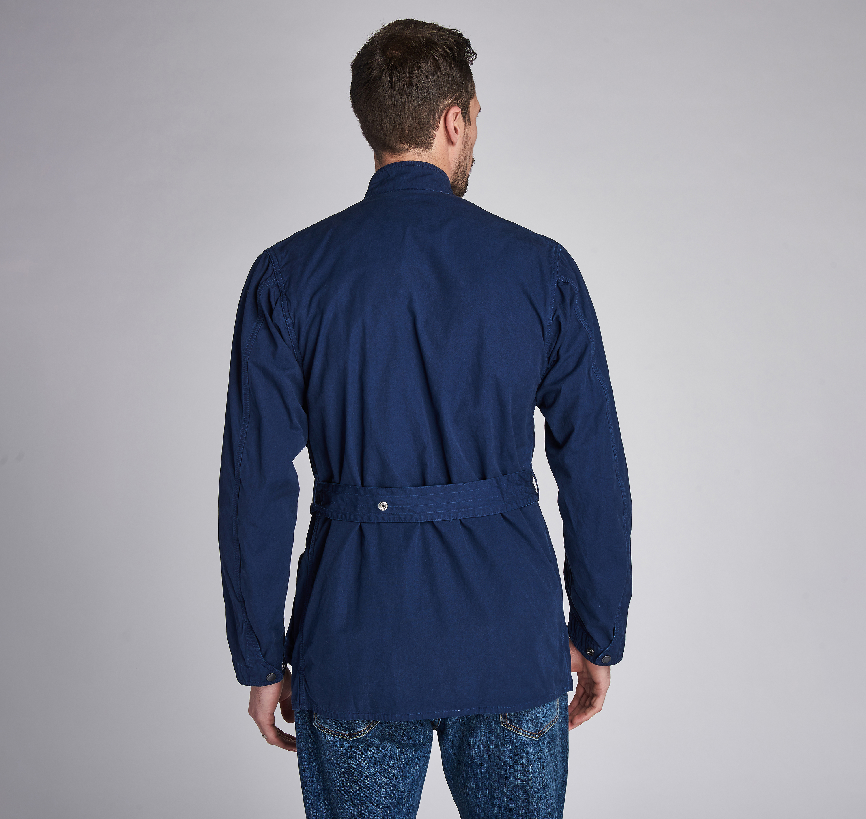 B. Intl. Coloured A7 Casual Jacket Navy