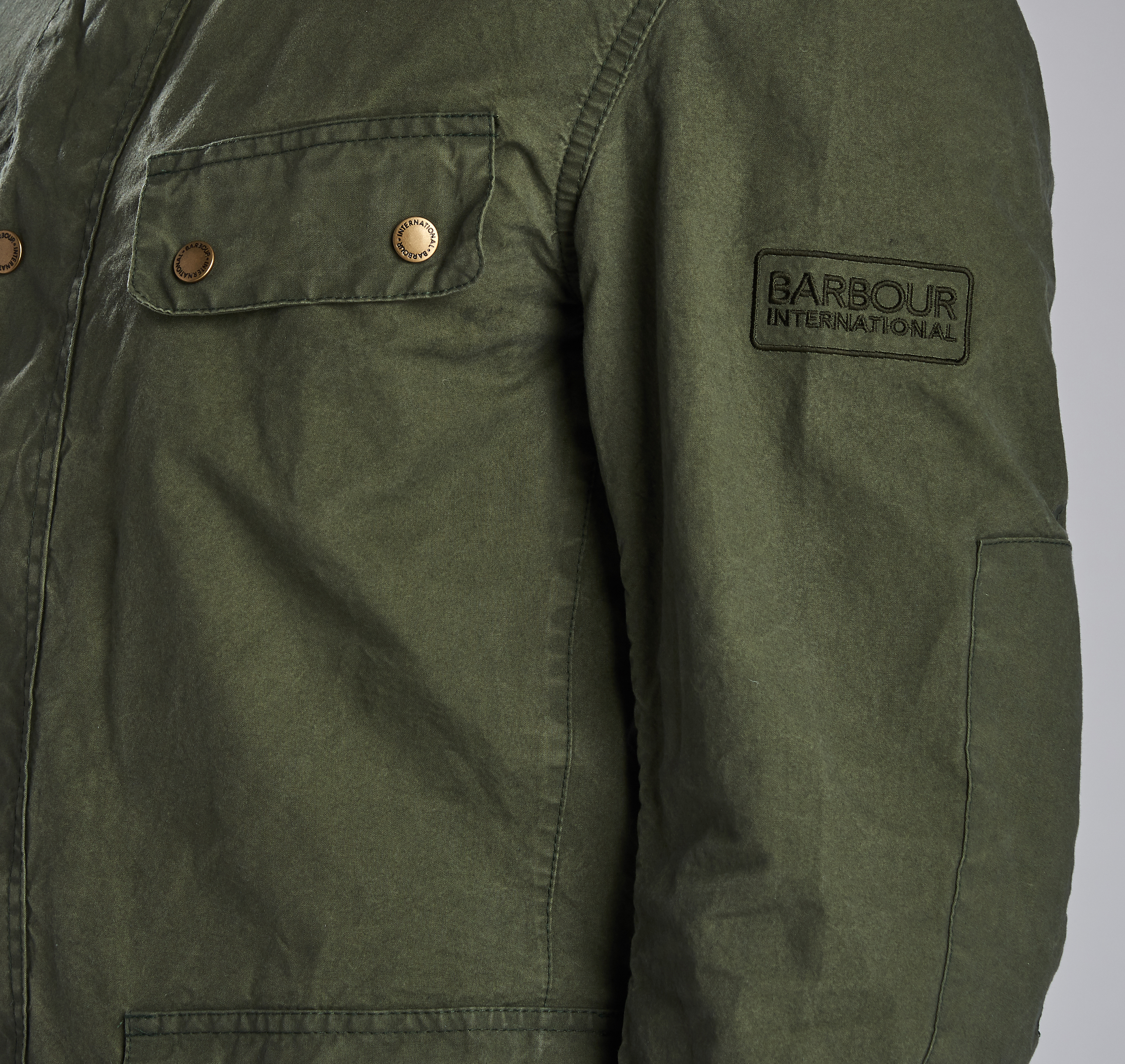 B. Intl. Coloured Duke Casual Jacket Green