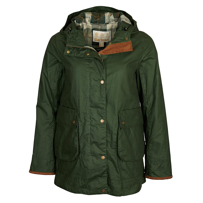 Barbour Barbour Victoria Waxed Cotton Jacket FIT: Relaxed