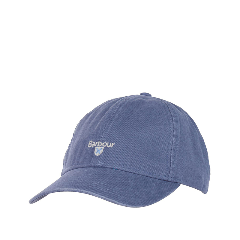 Barbour Branded Cascade Sports Cap Washed Blue Barbour Lifestyle: From the Classic capsule