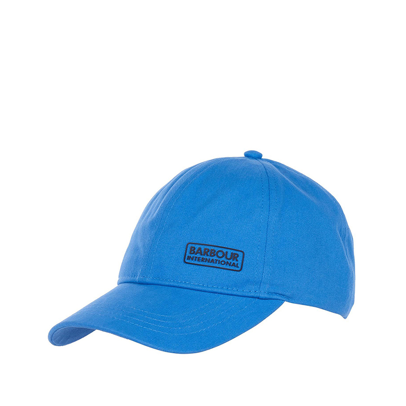 B. Intl Norton Drill Sports Cap Pure Blue Barbour International