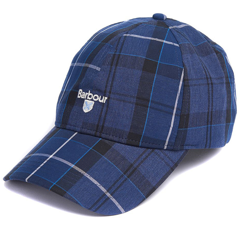 Barbour Branded Tartan Sports Cap Ink Barbour Lifestyle: From the Classic capsule