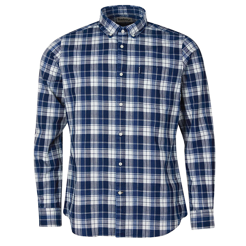 Barbour Indigo 11 Tailored Shirt FIT: Tailored