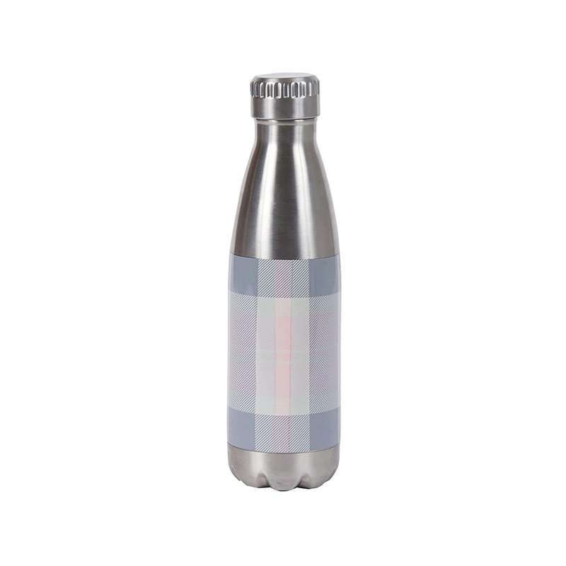 Barbour Barbour Tartan Water Bottle Pink Barbour Lifestyle