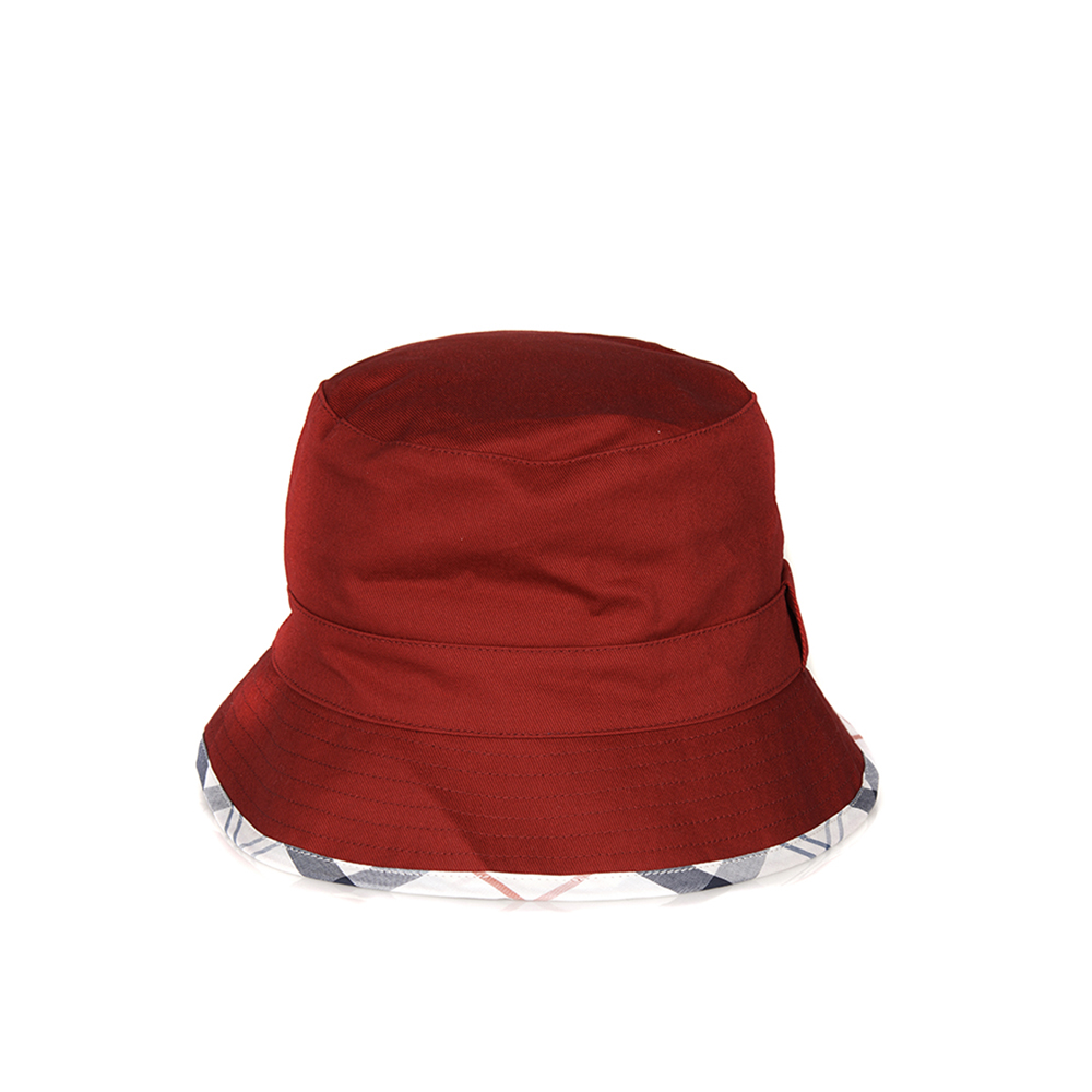 Barbour Langton Reversible Hat Red