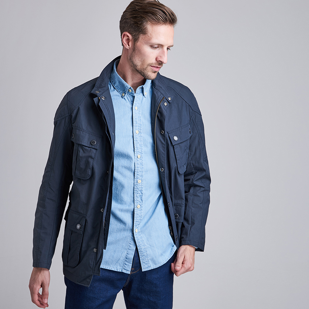Barbour Guard Casual Navy