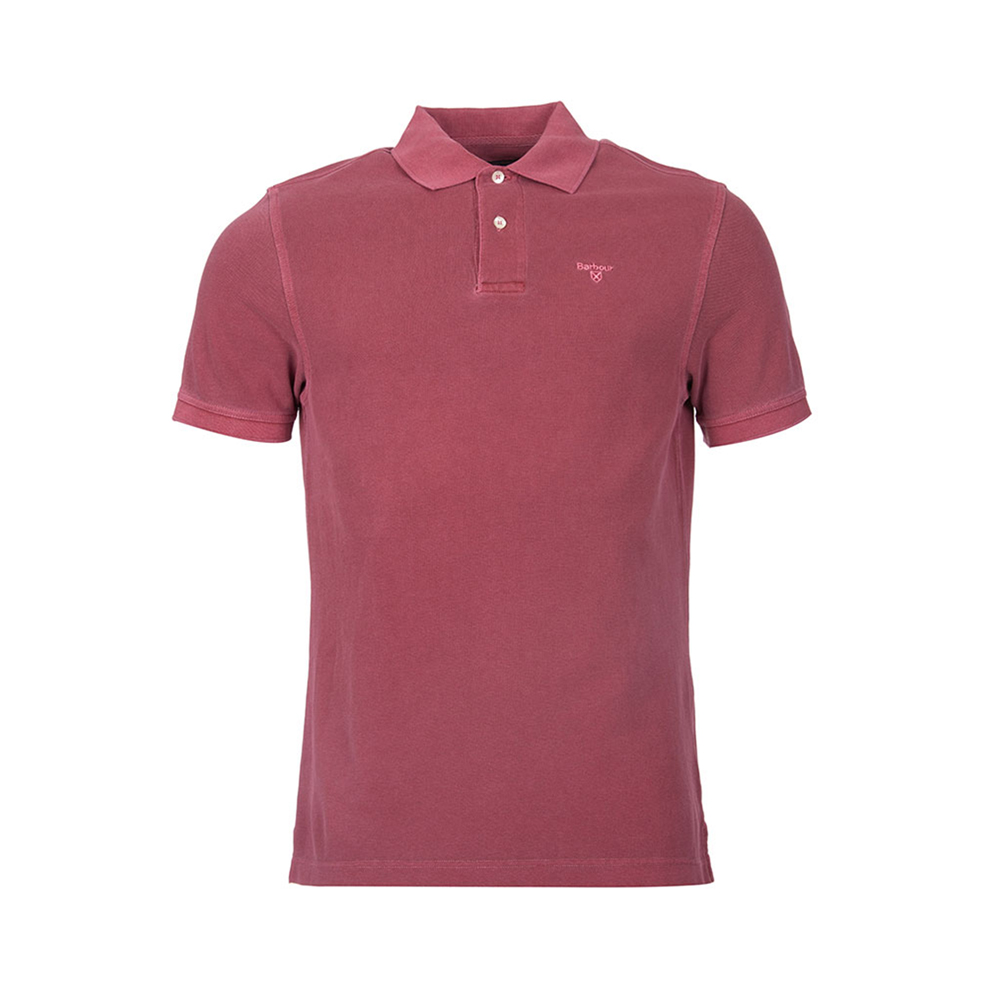 Barbour Barbour Washed Sports Polo Biking Red Barbour Lifestyle: From the Core Essentials collection