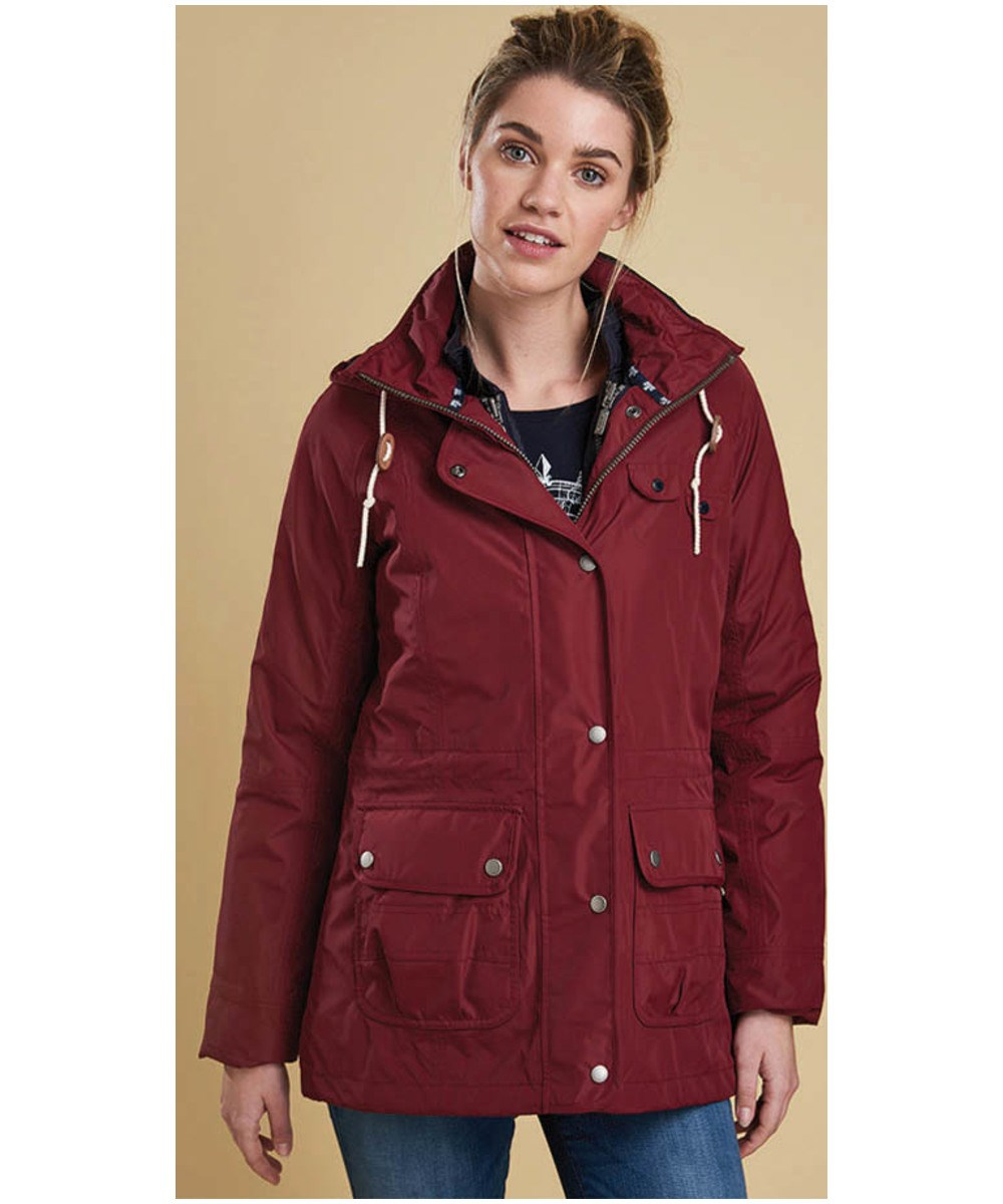 Barbour Throw Jacket Carmine Barbour Heritage Relaxed Fit